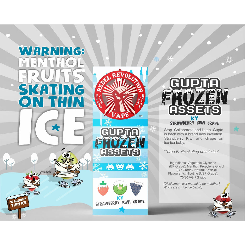 Vape Revolution Gupta Frozen Assets 120ml