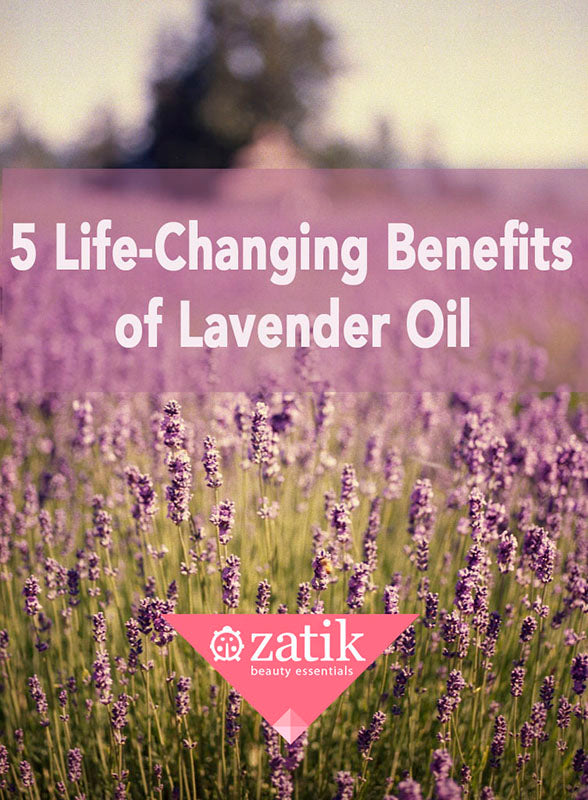 5 Life-Changing Benefits of Lavender Essential Oil