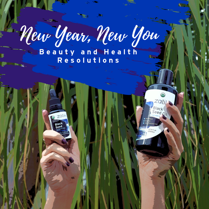 New Year, New Beauty & Health Resolutions