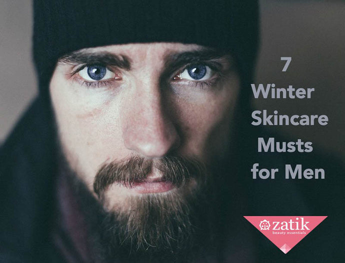 7 Winter Skincare Musts for Men