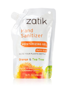 Orange & Tea Tree Hand Sanitizer Refill Pouch