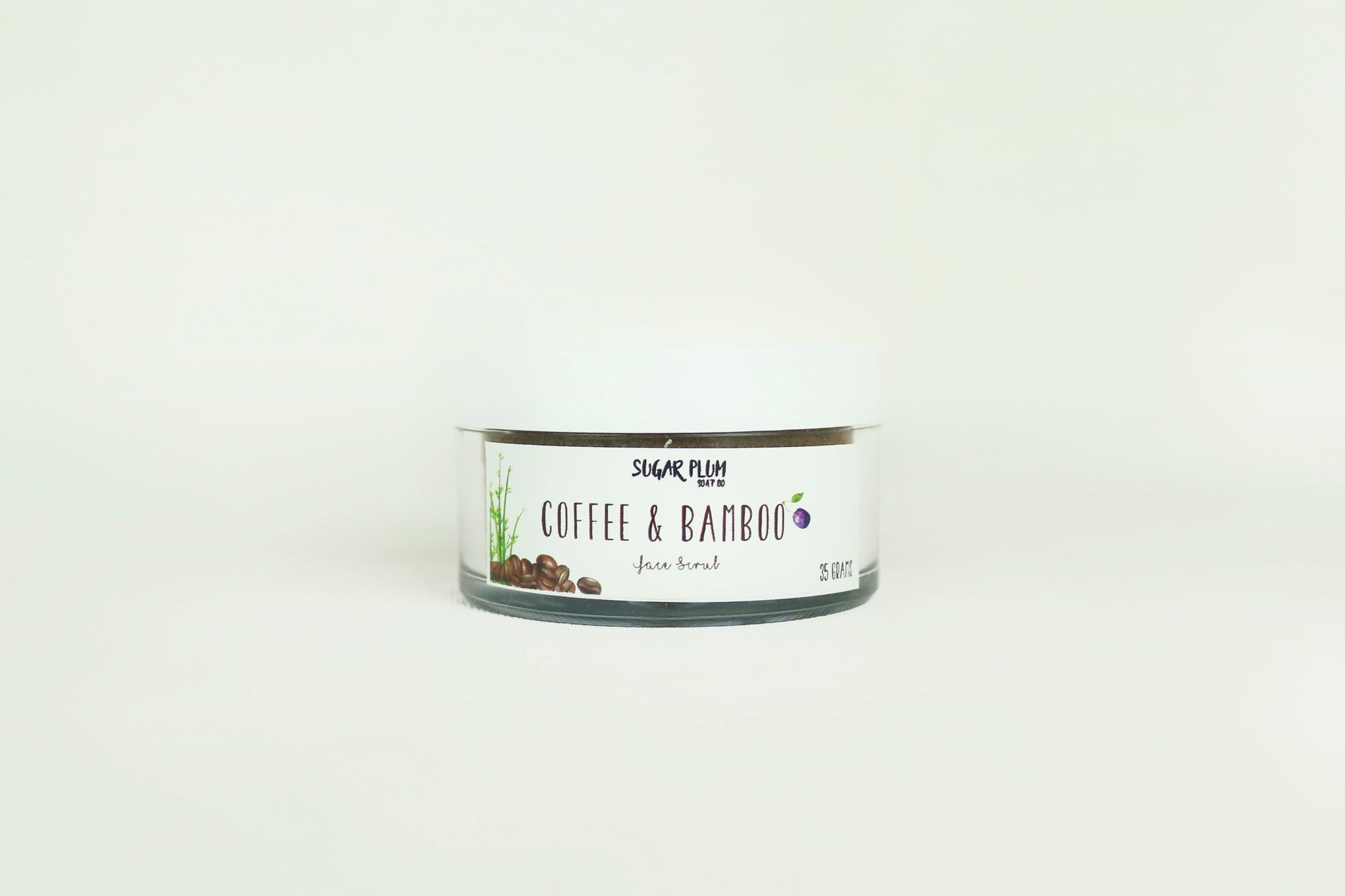 Coffee & Bamboo Face Scrub