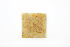 Tomato Poppy Seed Scrub with Shea Butter Bar