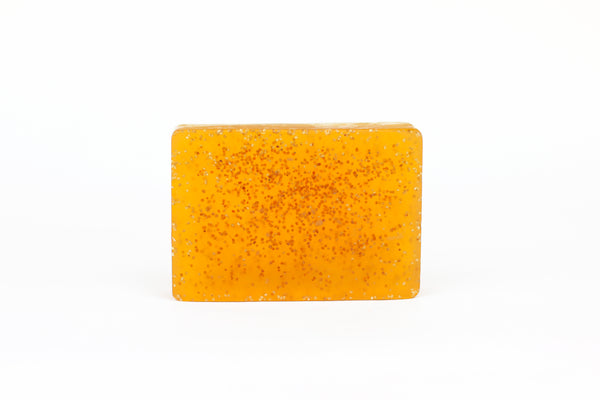 Tomato Poppy Seed Scrub Bar