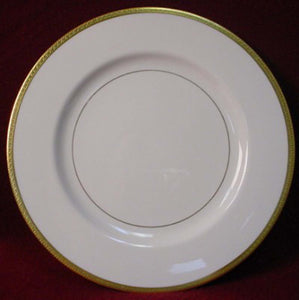 "HAVILAND china MADISON pattern DINNER PLATE 10-1/4"" Gold Encrusted"