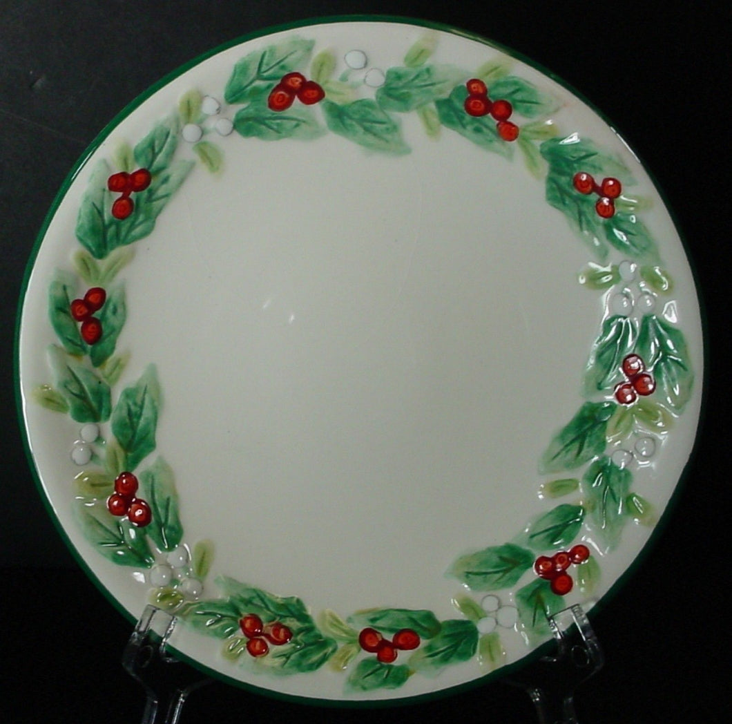 PFALTZGRAFF china WINTERBERRY pattern EMBOSSED SIDE DISH 6