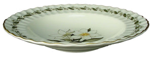 ROYAL WORCESTER china ENGADINE Z2155 no verge RIMMED SOUP or SALAD BOWL 8""