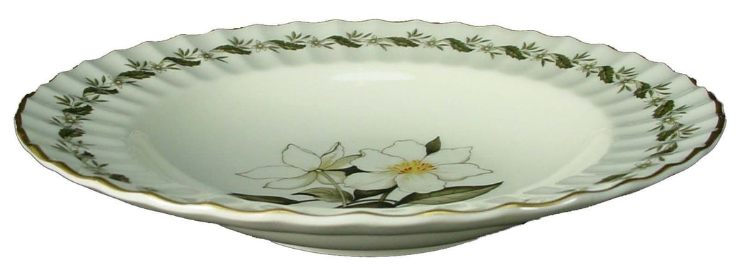 ROYAL WORCESTER china ENGADINE Z2155 no verge RIMMED SOUP or SALAD BOWL 8
