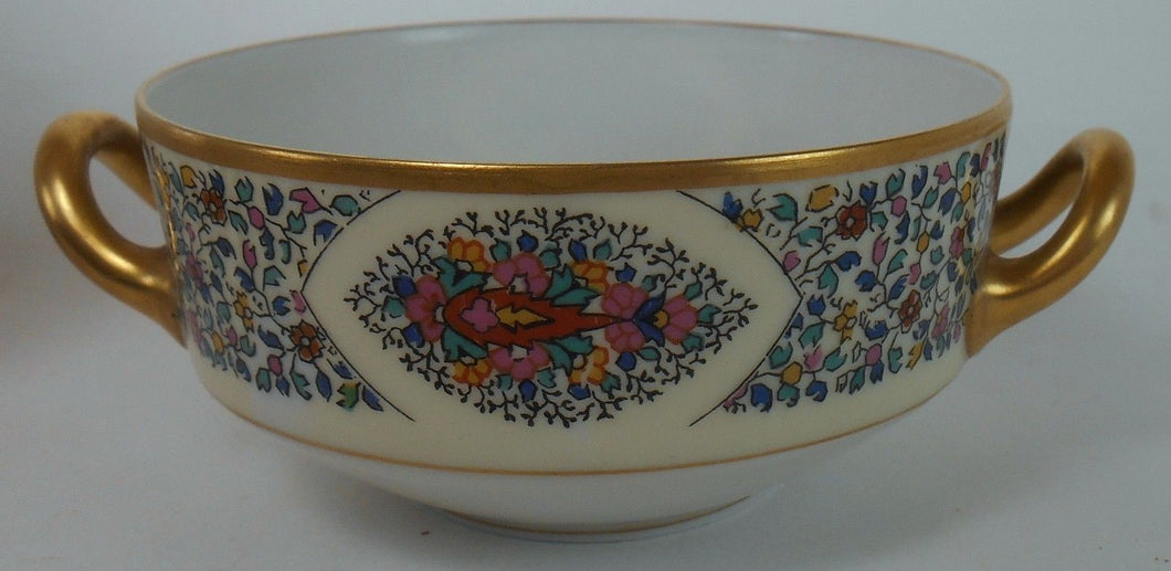 HAVILAND china FANTAISIE France Cream Soup Bowl or Bouillon Cup ONLY - NO SAUCER