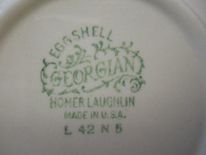 HOMER LAUGHLIN china G3370 pattern SAUCER Only