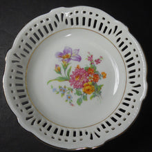 SCHWARZENHAMMER china SWH4 DRESDEN FLOWERS Fruit Dessert Berry Bowl #2 @ 5-1/2""