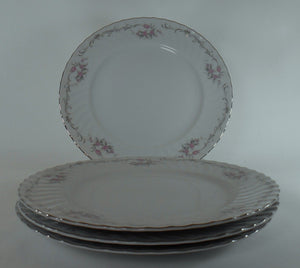 "GOLD STANDARD china GST1 pattern DINNER PLATE 10-3/8"" - set of 4"