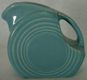 HOMER LAUGHLIN china FIESTA contemporary PERIWINKLE BLUE pattern 4 oz. PITCHER