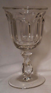 IMPERIAL glass OLD WILLIAMSBURG Clear pattern WATER Glass