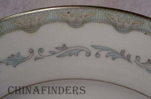 NORITAKE china MARGARET 6243 pattern Fruit Dessert Bowl - Set of Four (4) 5-5/8""