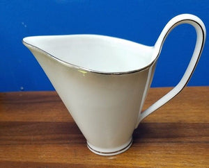 "ROSENTHAL china Pattern 3470 ""SHADOW EDGE"" Creamer Cream Pitcher or Jug"