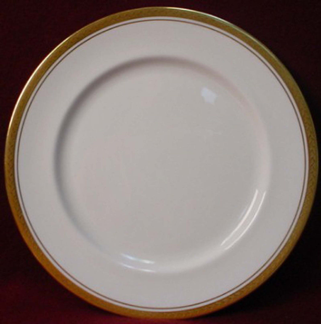 AYNSLEY china REGENCY 8285 white/smooth SALAD PLATE