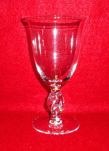 IMPERIAL glass TWIST 110 Clear pattern WATER Glass
