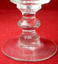 BRYCE crystal WALES LAUREL pattern Set of Five (5) Water Goblets - 5-5/8""