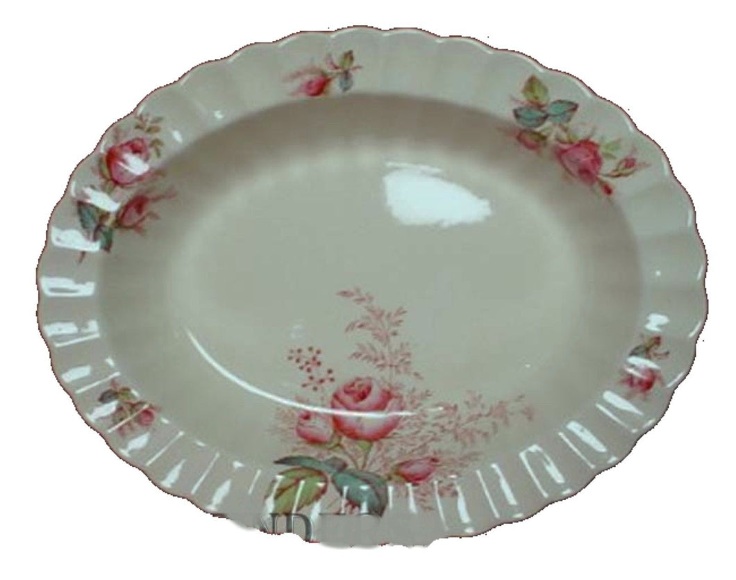 SPODE china DUBARRY pattern S2391 Oval Vegetable Serving Bowl @ 10-3/8