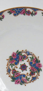HAVILAND china EXOTIC France LUNCHEON PLATE - 8-5/8""