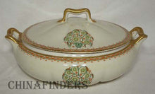 HAVILAND Limoges china SCHLEIGER 948-2 pattern Round Covered Vegetable Bowl