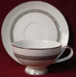 MIKASA china MANOR HOUSE 5433 pattern Cup & Saucer