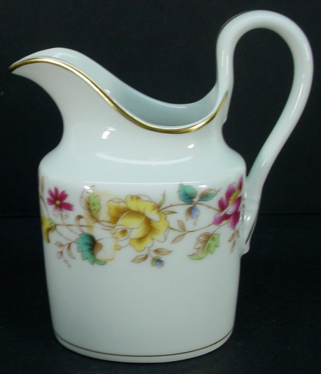 GINORI Richard china SORRENTO pattern CREAMER cream pitcher JUG 3-1/2