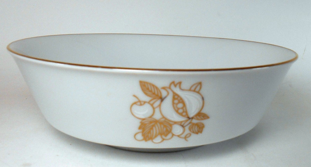 NORITAKE china DELLA ROBBIA 6532 pattern ROUND VEGETABLE Serving BOWL 9