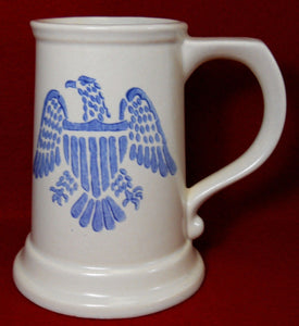 PFALTZGRAFF china YORKTOWNE pattern EAGLE Mug Tankard or Beer Stein - 5-1/2""