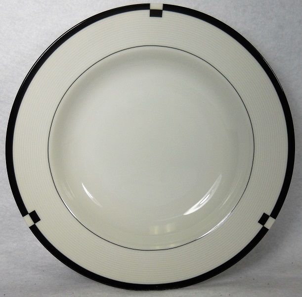MIKASA china MIDNIGHT L5542 pattern Soup or Salad Bowl - 8-1/2