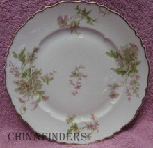 HAVILAND china POPPY pattern Salad Plate - Set of Two (2) - 7-5/8""