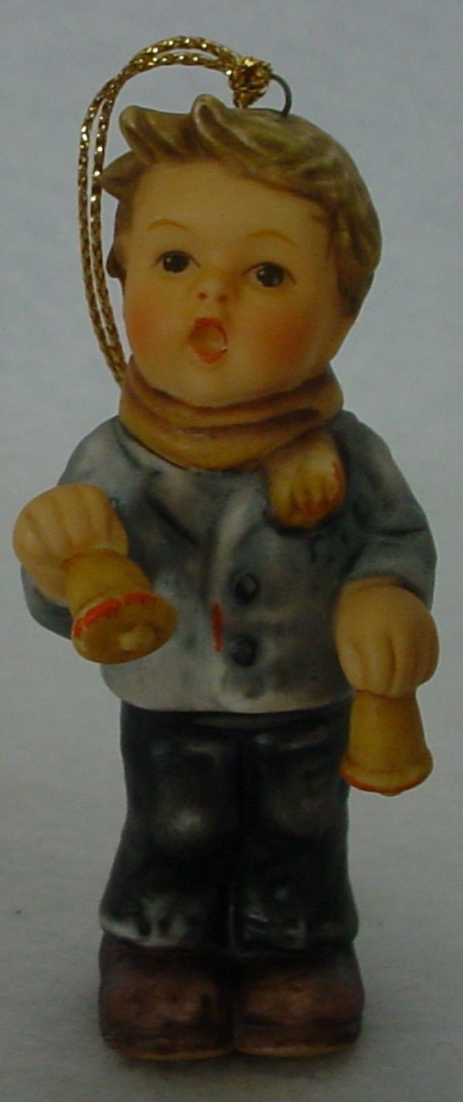 GOEBEL porcelain LITTLE BELL RINGER BH0016 ORNAMENT 1999 no box