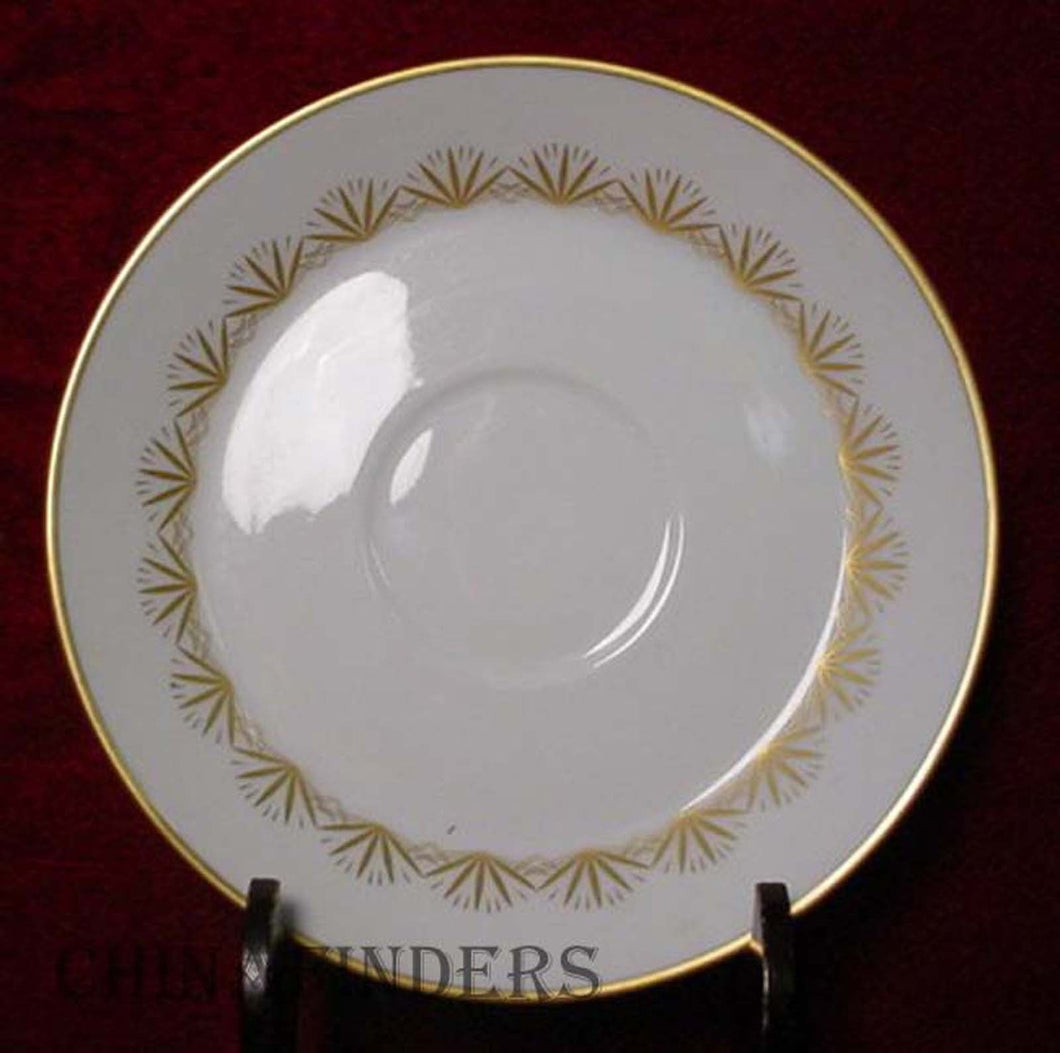 HUTSCHENREUTHER china CHERRYWOOD 1105 pattern Saucer ONLY