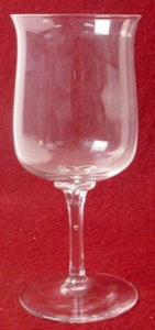 LENOX crystal DIMENSION pattern WATER GOBLET - 7-1/8""
