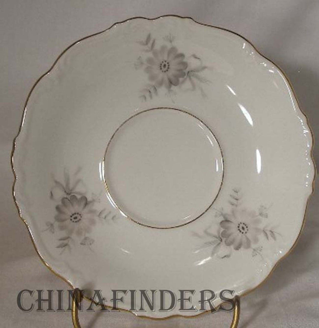 EDELSTEIN china ANDOUCA 18815 pattern Set of 3 SAUCERS