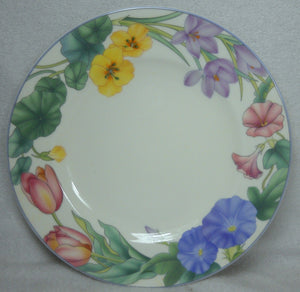 MIKASA china SPRING LEGACY CAR19 pattern SALAD or DESSERT PLATE 7-3/4""