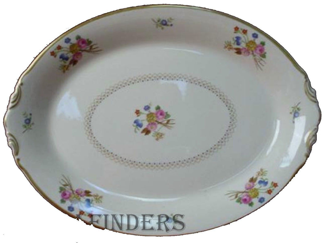 SYRACUSE china COVENTRY pattern Small Oval Serving Platter @ 12-1/4