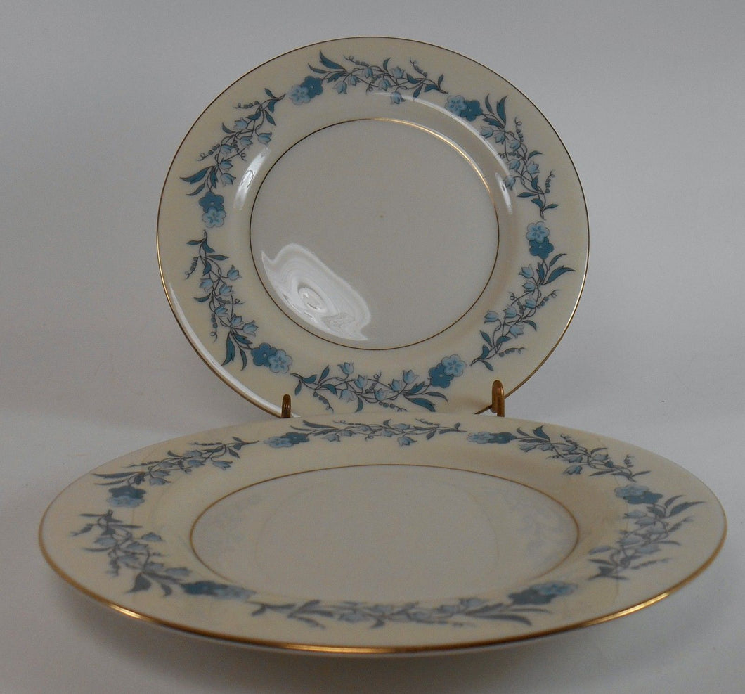 HAVILAND china CLINTON New York Bread Plates - Set of Two (2) - 6-1/2