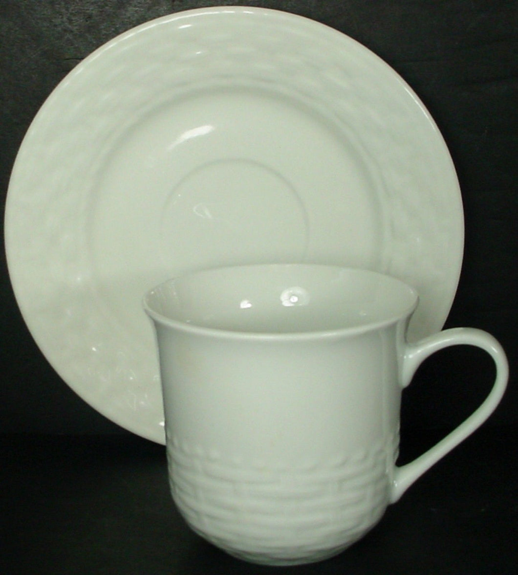 GIBSON DESIGNS china SARASOTA pattern CUP & SAUCER Set Cup 3
