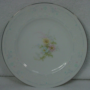 "NORITAKE china ANTICIPATION 2963 pattern BREAD PLATEs 6-3/8"" SET OF 2!!!"