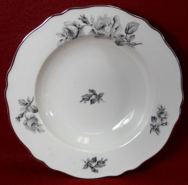 FRANCONIA Krautheim china GRIXELLA Rim Soup or Salad Bowl - 7-7/8
