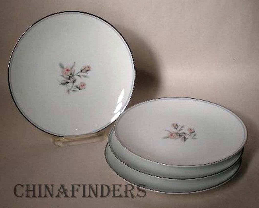 NORITAKE china MARGOT #5605 Bread Plate - Set of Four (4) - 6-3/8