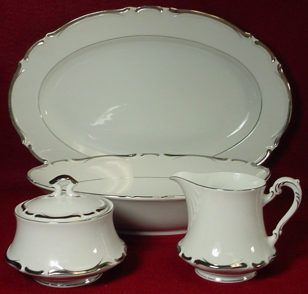 ARLEN china MARQUIS 487 pattern 5-pc HOSTESS Serving SET