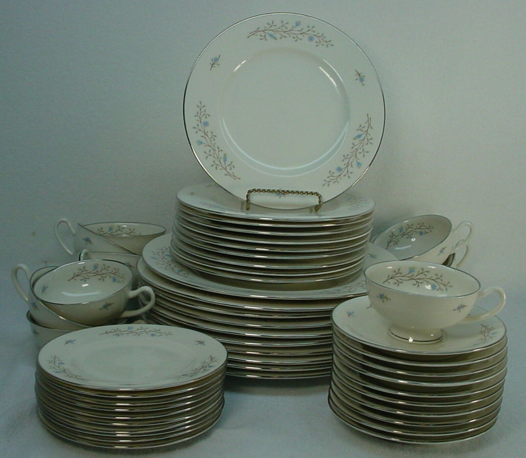 SYRACUSE china INSPIRATION pattern 52-Piece Set Service for Ten (10)