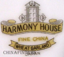 HARMONY HOUSE china WHEAT GARLAND 3635 PITCHER