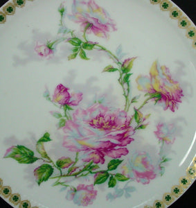 HAVILAND china H2658 pattern LUNCHEON PLATE