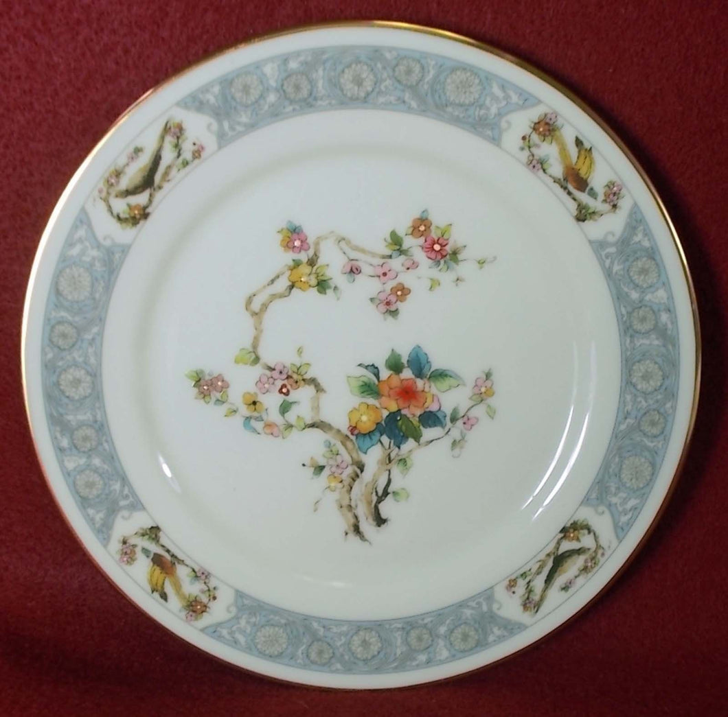 OXFORD Lenox china MING BLOSSOM pattern Bread Plate - 6-3/8