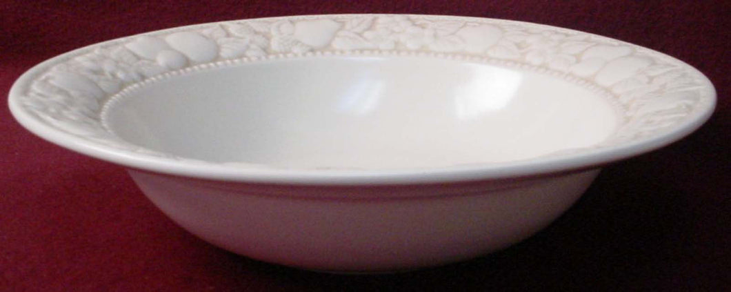 METLOX china VERNON ANTIGUA pattern Round Vegetable Serving Bowl @ 10 5/8