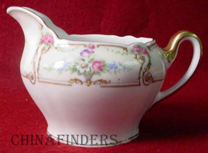 PAUL MULLER china The EMPRESS pattern Creamer Pitcher/Jug